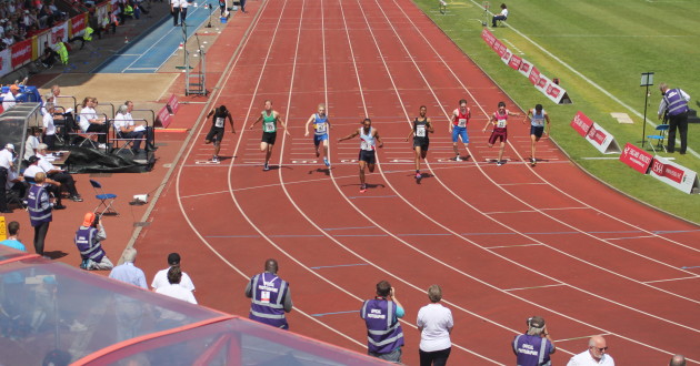 Niall Price (67) 100m Final
